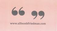 Friedman, Allison 2